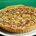 Tarte aux pinards et gorgonzola
