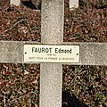 Soldat Edmond FAUROT