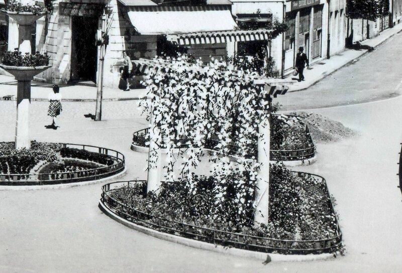 CPSM Belfort Place Corbis 1945-50 2 R