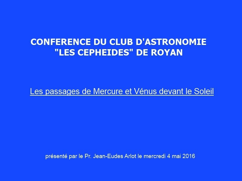 titre conference