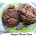 Outrageous chocolate cookies (martha stewart)