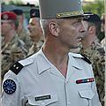 Le général françois lecointre nommé chef d'état-major des armées après la démission de pierre de villiers