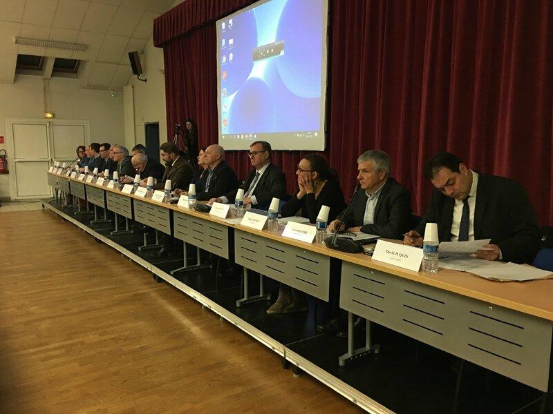 communauté d'agglomération Mont-Saint-Michel Normandie bureau président vice-président