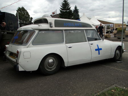CITROEN DS 20 Ambulance 1974 Bourse de Crehange 2009 2