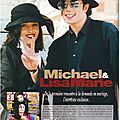 Michael et lisa marie - black & white n°12, décembre 1994