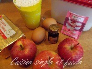 gâteau pommes 01