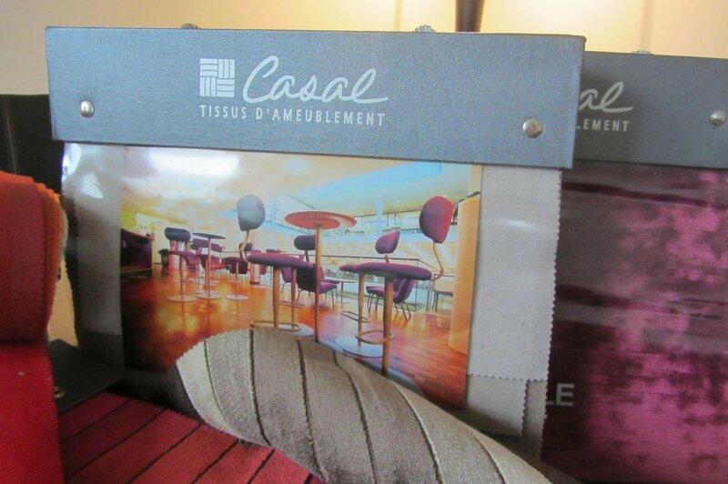 Tissu Casal côté sièges à Brest