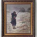Couturier Soldat transis de froid 1870