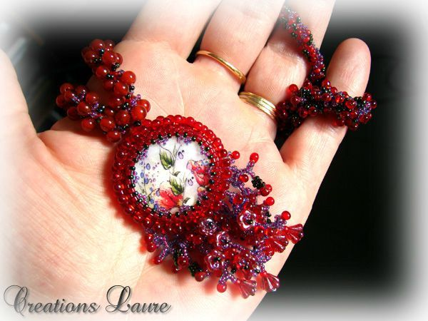 Collier ruby ...