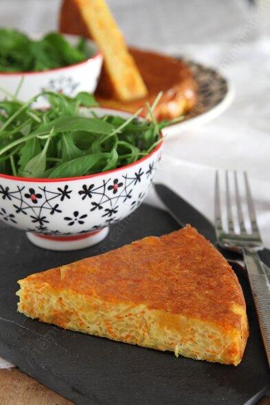 recette gateau pomme de terre carotte vegetarien 005 LE MIAM MIAM BLOG