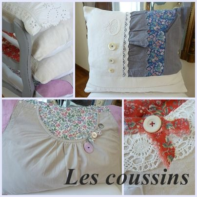 montage coussins