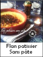index flan patissier sans pâte
