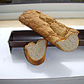 Baguette sans gluten  la farine de quinoa pour les gourmands
