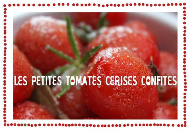 petites tomates cerises confites -1- titre