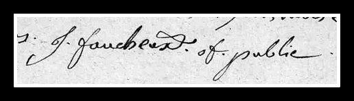 signature Faucheux