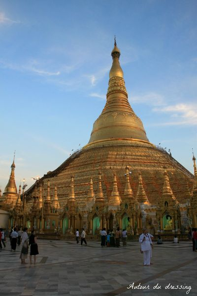 birmanie pagode shwedagon rangoon