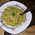 Blé sauce au brocoli