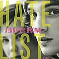 Hate list - jennifer brown (ado)
