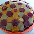 Gâteau chocolat framboise pour la fête des mamans