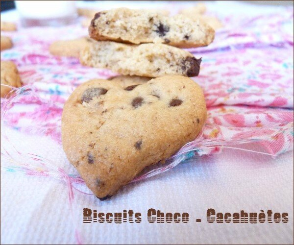 biscuit choco cacahuete 2