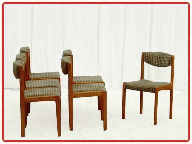 chaises vintage hêtre 1960 (8)