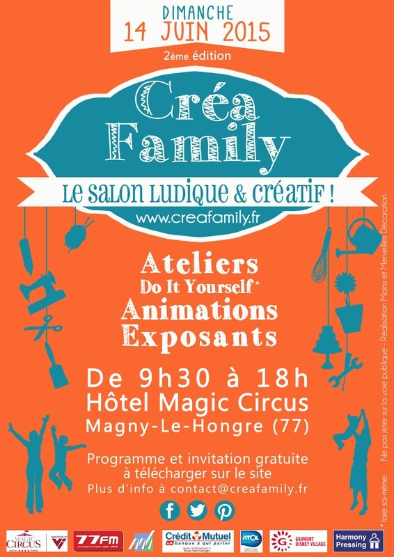 affiche crea family 2e édition