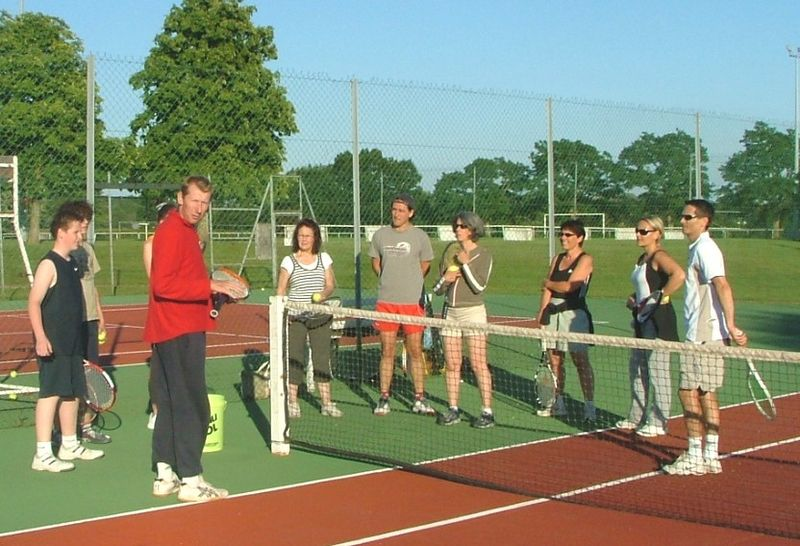 cours tennis 2009