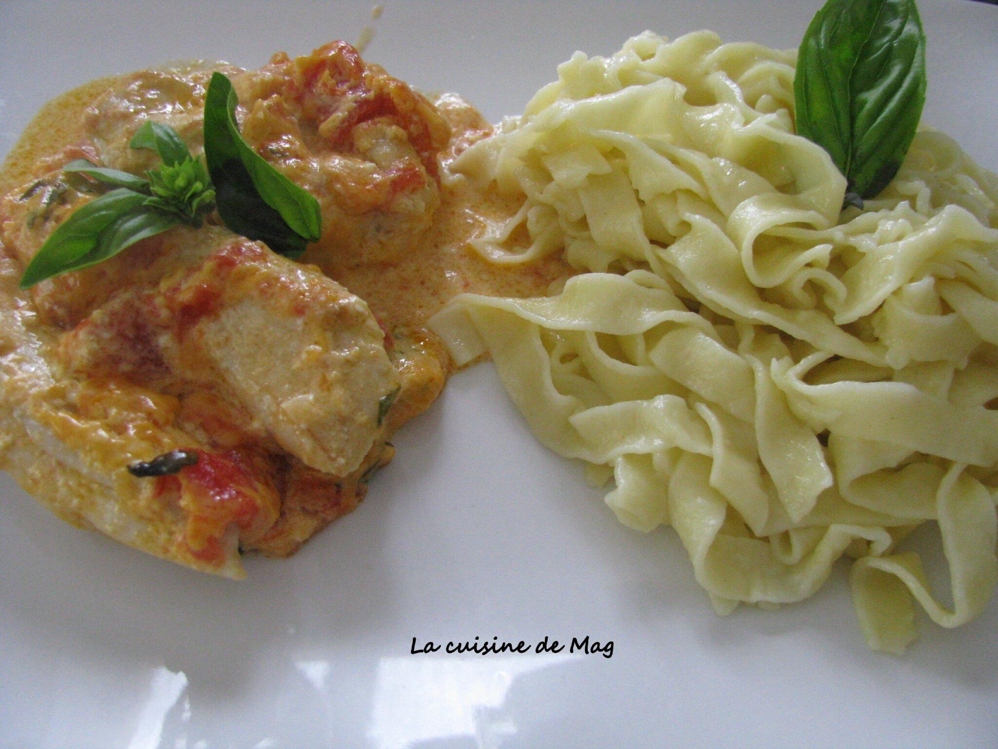 Poulet tomates et mascarpone la cuisine de mag - Comment cuisiner la mascarpone ...