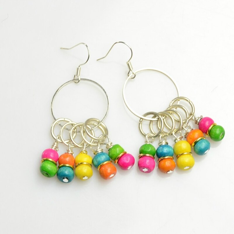 Wood-Beads-Earrings-with-Jump-Rings-4