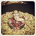 Un air de diwali dans nos assiettes : happy diwali!