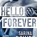 Hello forever (pay it forward #2) by sarina bowen