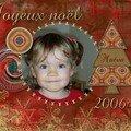 Carte joyeux noël 2006