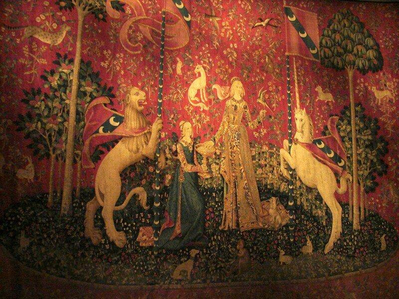 La tapisserie de la dame la licorne paris lieux sacr s - Tapisserie dame a la licorne ...