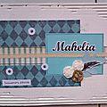 Livre d'école Mahelia