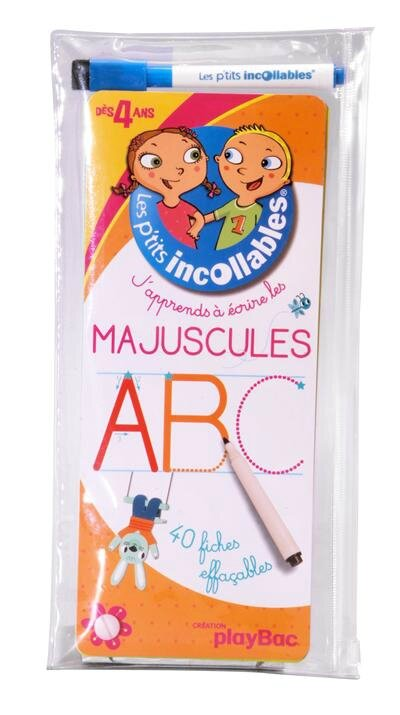 incollables majuscules