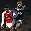 Les buts arsenal vs southampton résumé vidéo (0-2)