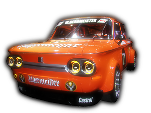 00 - TOP 01 - JAGERMEISTER NSU 1300 TTS Orange transform