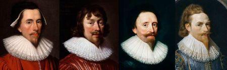 Gentilshommes anglais 1625-1630