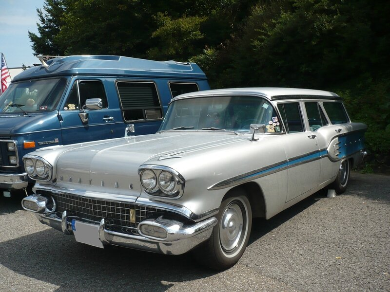 PONTIAC Star Chief Custom Safari 4door Wagon 1958 Sinsheim (1)