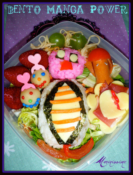 Bento Manga Power