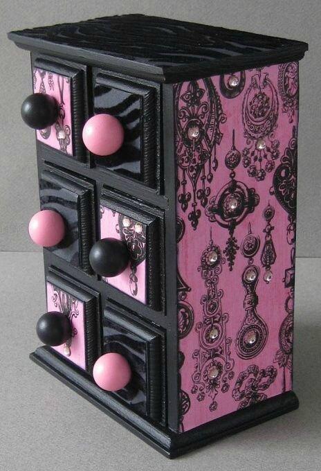 awesome comment fabriquer une boite a bijoux 12 comment faire un bo te de rangement pour vos. Black Bedroom Furniture Sets. Home Design Ideas