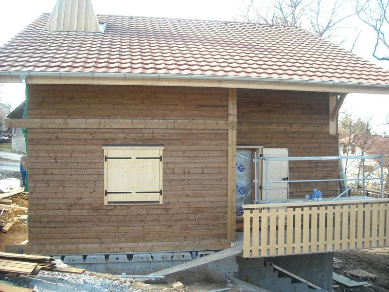 Photo salle de bain en bois aix en provence prix travaux for Renovation salle de bain prix m2