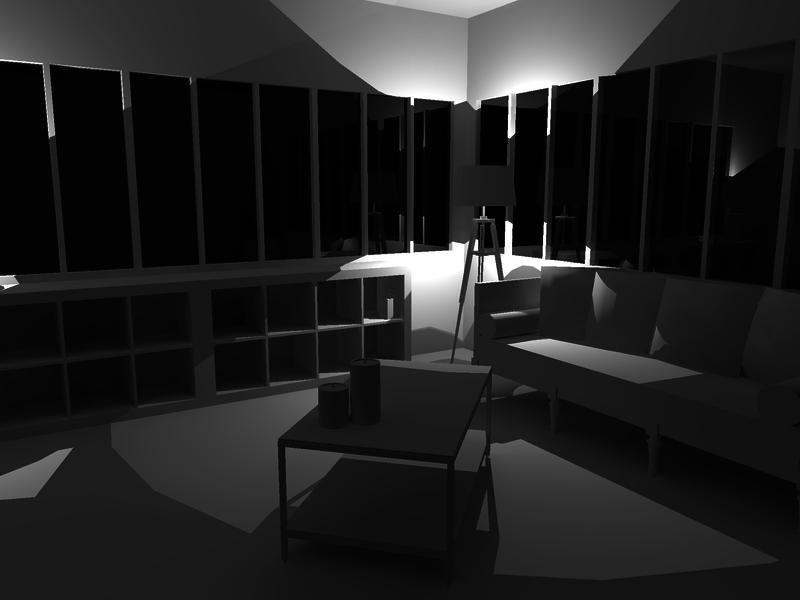 sketchup et kerkythea lignes formation d coration d 39 int rieur. Black Bedroom Furniture Sets. Home Design Ideas