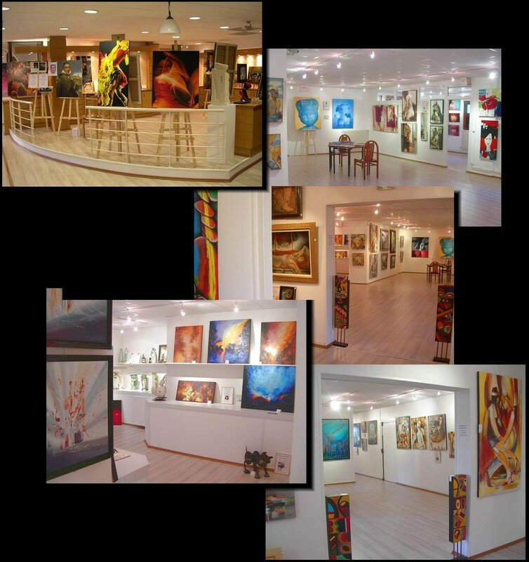 Vernissage la galerie du ch teau de pau 64 chrystel for Artiste peintre pau