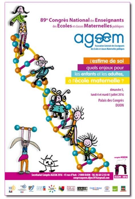 Affiche congrès AGEEM 2016 Dijon