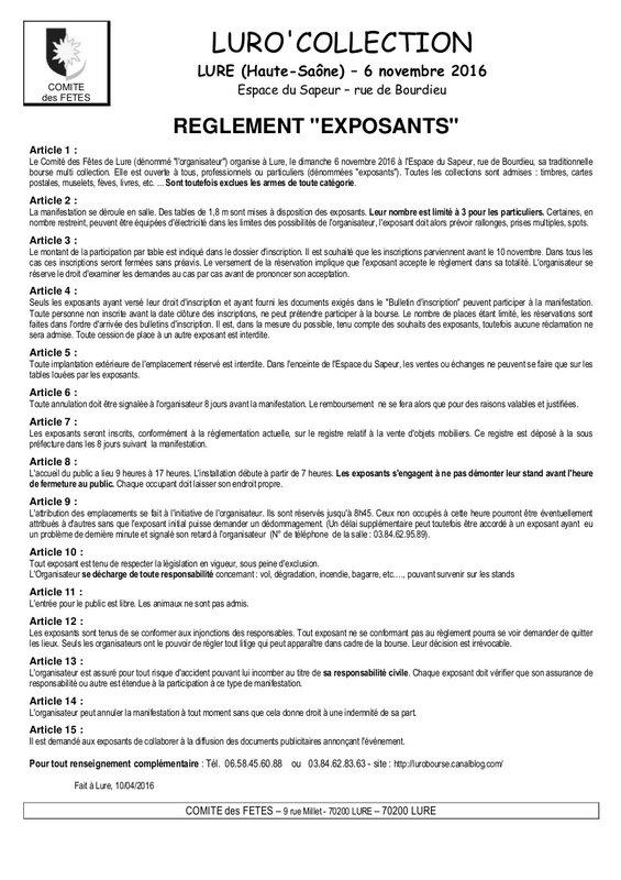 16-Bours- reglement