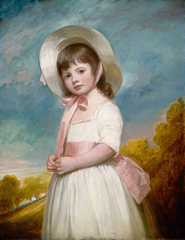 1788 - Portrait of Miss Juliana Willoughby