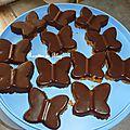 Barres de cereales au chocolat