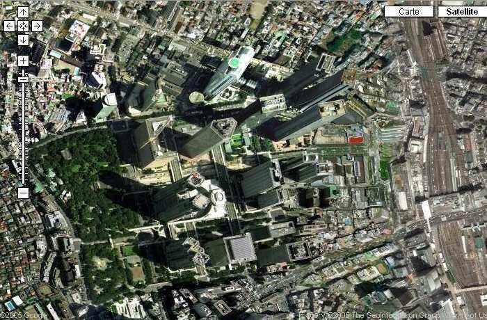 CanalBlog Google Maps Tokyo Shinjuku Mairie01