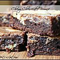 Chewy Cheesecake Brownie